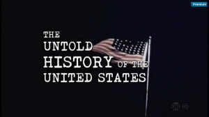 Watch Oliver Stone's Oliver Stone's Untold History Of The United States. Click on the picture.