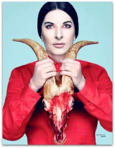 Unfortunately, the Serbian performance artist Marina Abramović is involved in Satanic rituals with the Clinton campaign.